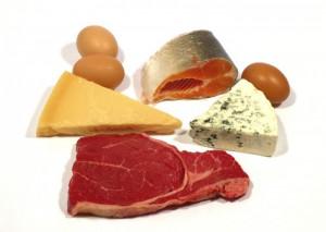 protein cho ba bau